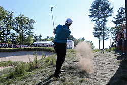 September 1, 2018 - Norton, Massachusetts, United States - Chez Reavie hits out of the rough on the 11th hole during the second round of the Dell Technologies Championship. (Credit Image: © Debby Wong/ZUMA Wire)