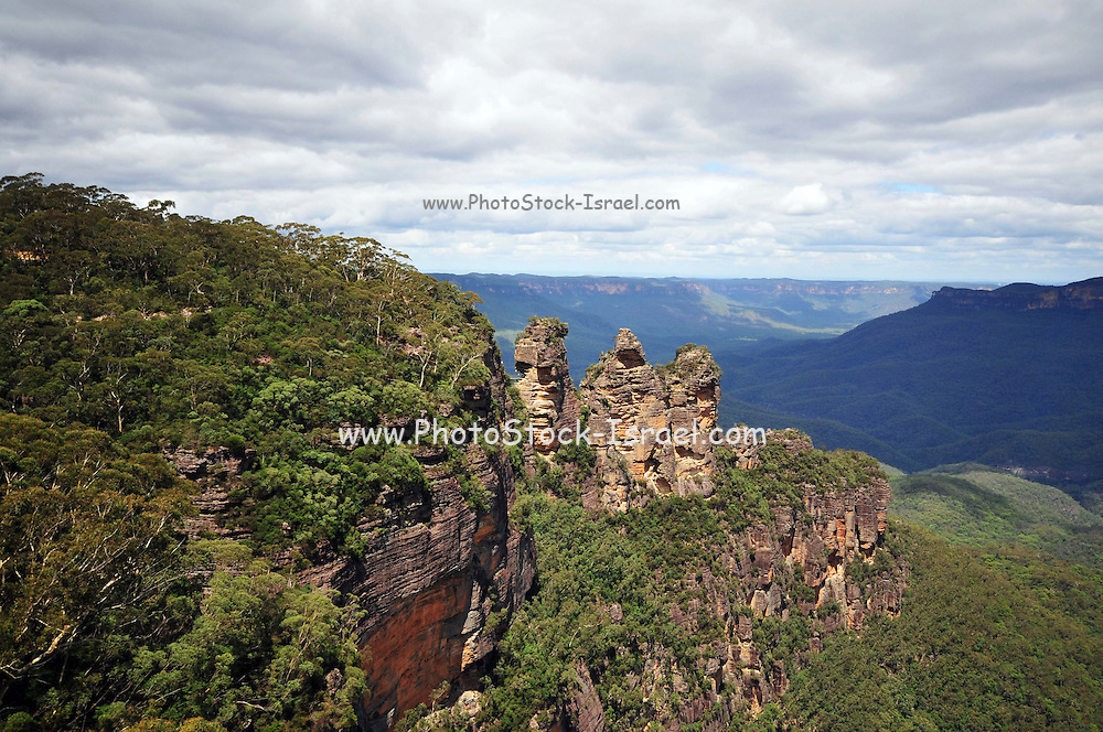 Australia, New South Wales, Blue Mountains (Near Sydney) The Three Sisters