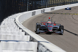 July 7, 2018 - Newton, Iowa, United States of America - WILL POWER (12) of Australia takes to the track to practice for the Iowa Corn 300 at Iowa Speedway in Newton, Iowa. (Credit Image: © Justin R. Noe Asp Inc/ASP via ZUMA Wire)