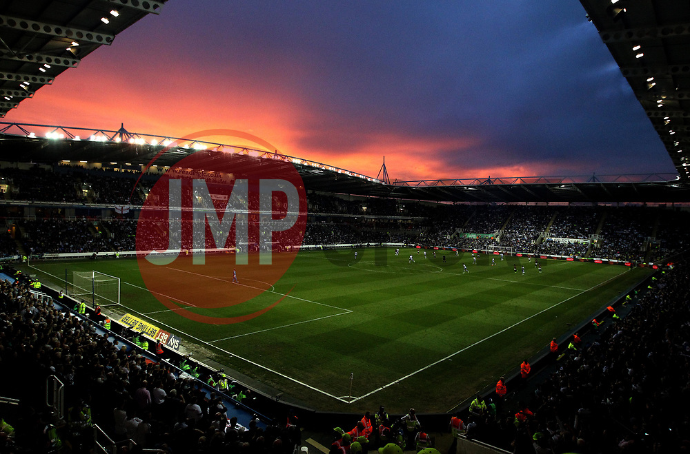 A general view of The Madejski Stadium, home of Reading during their playoff Semi-Final against Fulham - Mandatory by-line: Robbie Stephenson/JMP - 16/05/2017 - FOOTBALL - Madejski Stadium - Reading, England - Reading v Fulham - Sky Bet Championship Play-off Semi-Final 2nd Leg