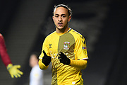 Coventry City midfielder Jodi Jones (7) during the EFL Trophy match between Milton Keynes Dons and Coventry City at Stadium:MK, Milton Keynes, England on 3 December 2019.