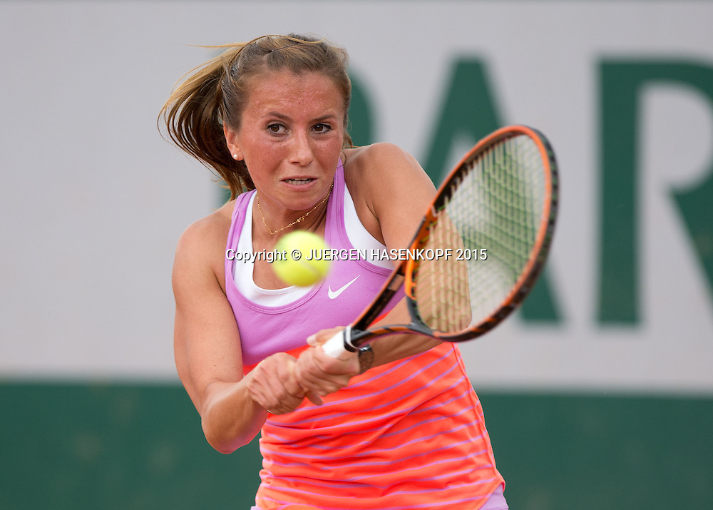 Annika Beck (GER)<br /> <br /> Tennis - French Open 2015 - Grand Slam ITF / ATP / WTA -  Roland Garros - Paris -  - France  - 25 May 2015.