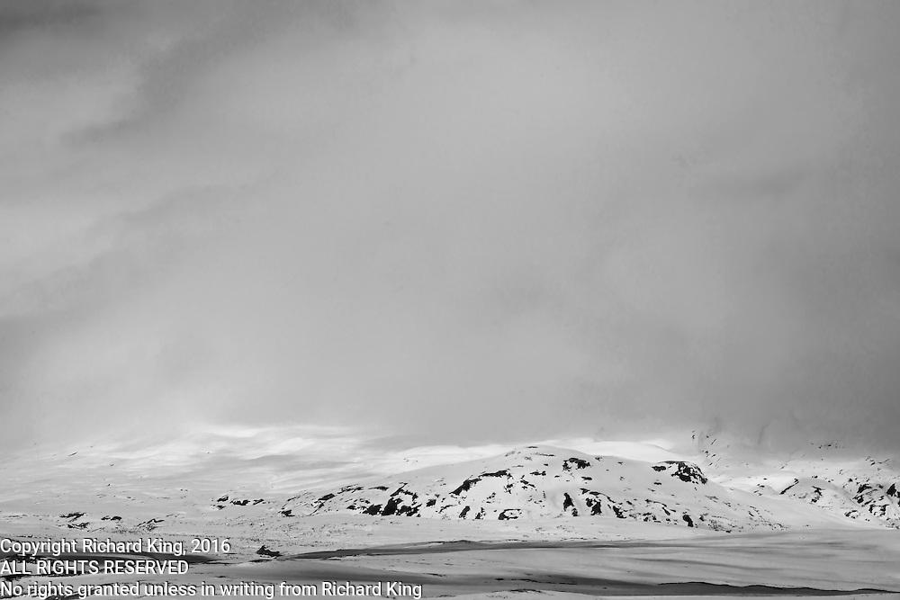 Snowscape photographs Haines Highway AK & YT