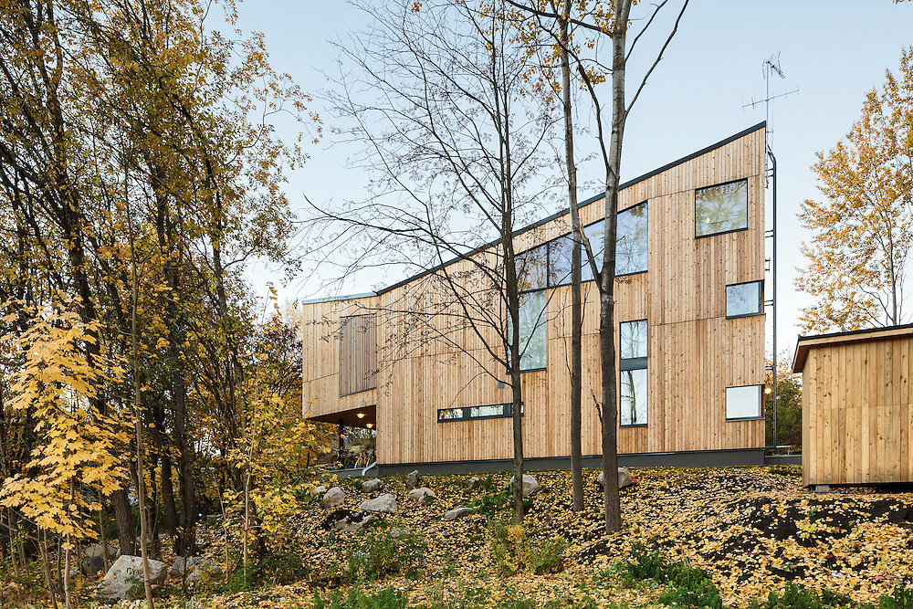 House M-M in Helsinki, Finland designed by Tuomas Siitonen Office.