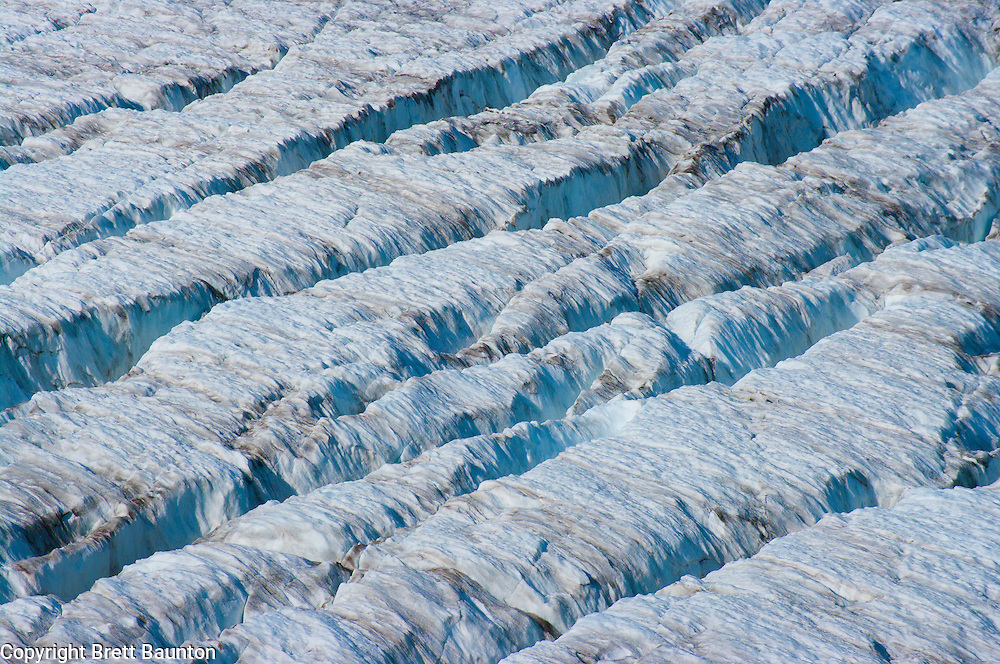 Easton Glacier; Mt. Baker; South Side; Glacier, Ice, Crevasse, WA