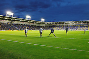 Halliwell Jones Stadium ready for the Super League match between Warrington Wolves and Widnes Vikings at the Haliwell Jones Stadium, Warrington, United Kingdom on 9 September 2016. Photo by Craig Galloway.