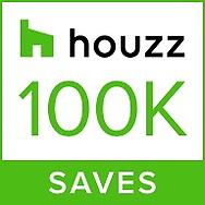 Houzz Award! 100K Photos Saves!