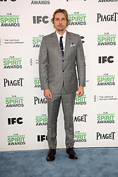 Dax Shepard at the 2014 Film Independent Spirit Awards Arrivals, Santa Monica Beach, Santa Monica, United States, Saturday, 1st March 2014. Picture by Hollywood Bubbles / i-Images<br /> UK ONLY