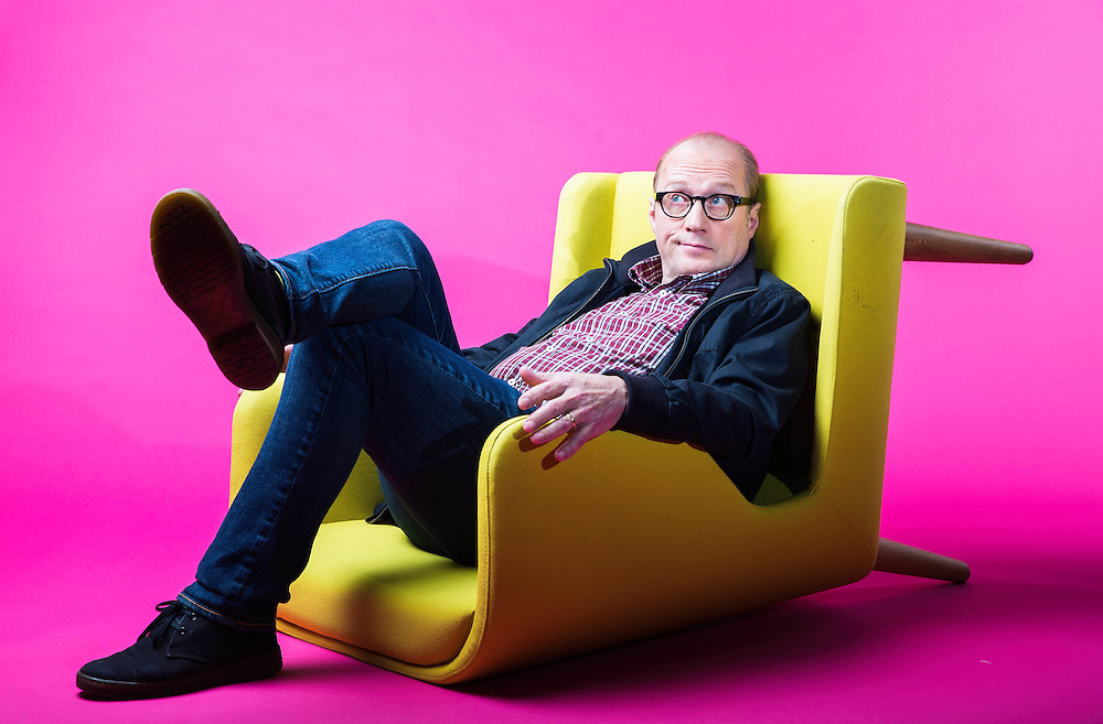 Actor Adrian Charles &quot;Ade&quot; Edmondson portrait on December 4th  2015.<br /> <br /> British comedian Ade Edmondson stars in the BBC adaptation of War and Peace.<br /> <br /> Photos Ki Price