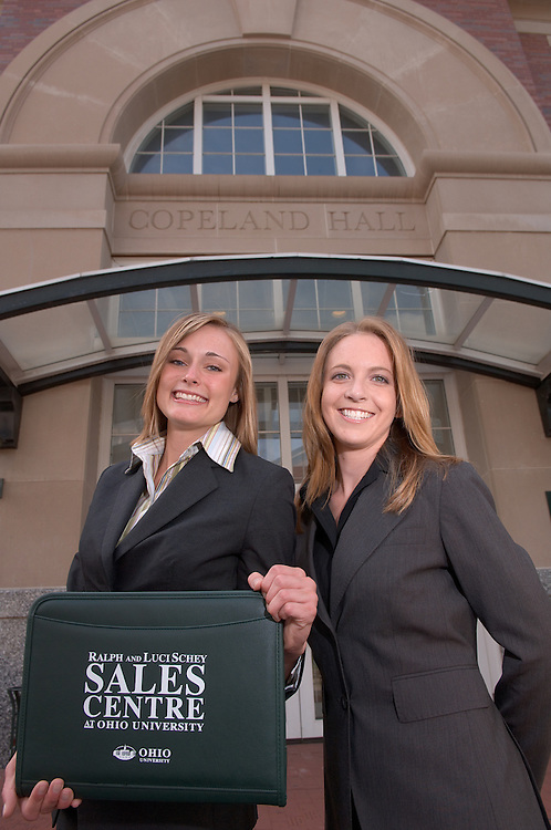18205Erin Cochran & Julie Anstine : portrait by Class Gate & Copeland for the Sales Center