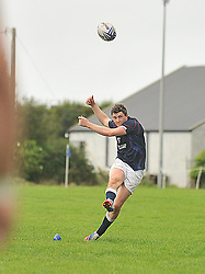 Westport's Sean Tobin scored 15 at the 25 points against Buccaneers in the junior league match.<br /> Pic Conor McKeown