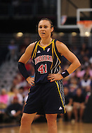 Aug 8, 2010; Phoenix, AZ, USA; Indiana Fever guard Tully Bevilaqua during the first half in at US Airways Center.  The Fever defeated the Mercury 104-82.    Mandatory Credit: Jennifer Stewart-US PRESSWIRE
