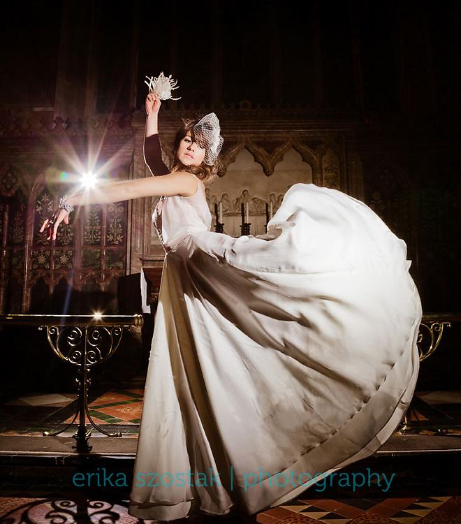 Photography: Erika Szostak<br /> Assistant photography: Mark Liddell<br /> Models:  Tiffany Soithongsuk (Wathletic) &amp; Shareefa Radford (Hughes Models) <br /> Makeup: Jo Chang<br /> Hair: Chloe Han<br /> Styling: Upesh (Pash) Mistry, stylecreative<br /> Dresses: Oh My Honey!<br /> Jewellery &amp; accessories: Primo Jewellery<br /> Location: St. James Church, Sussex Gardens, London<br /> Production Coordinator: Gab Femi