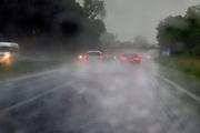 Nederland, Nijmegen, 29-5-2018 Een zware regenbui na een broeierige dag . Onweersbui .Foto: Flip Franssen