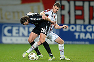 Onderwerp/Subject: Willem II - FC Utrecht - Eredivisie<br /> Reklame:  <br /> Club/Team/Country: <br /> Seizoen/Season: 2012/2013<br /> FOTO/PHOTO: Marc HOCHER (R) of Willem II in duel with Dave BULTHUIS (L) of FC Utrecht. (Photo by PICS UNITED)<br /> <br /> Trefwoorden/Keywords: <br /> #04 $94 &plusmn;1342772348418<br /> Photo- &amp; Copyrights &copy; PICS UNITED <br /> P.O. Box 7164 - 5605 BE  EINDHOVEN (THE NETHERLANDS) <br /> Phone +31 (0)40 296 28 00 <br /> Fax +31 (0) 40 248 47 43 <br /> http://www.pics-united.com <br /> e-mail : sales@pics-united.com (If you would like to raise any issues regarding any aspects of products / service of PICS UNITED) or <br /> e-mail : sales@pics-united.com   <br /> <br /> ATTENTIE: <br /> Publicatie ook bij aanbieding door derden is slechts toegestaan na verkregen toestemming van Pics United. <br /> VOLLEDIGE NAAMSVERMELDING IS VERPLICHT! (&copy; PICS UNITED/Naam Fotograaf, zie veld 4 van de bestandsinfo 'credits') <br /> ATTENTION:  <br /> &copy; Pics United. Reproduction/publication of this photo by any parties is only permitted after authorisation is sought and obtained from  PICS UNITED- THE NETHERLANDS