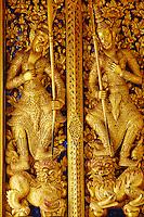 Thailande, Bangkok, Wat Phra Kaew situé dans l'enceinte du Palais Royal // Thailand, Bangkok, Wat Phra Kaew inside the Royal Palace