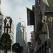 Street in downtown San Francisco.San Francisco, CA..USA.