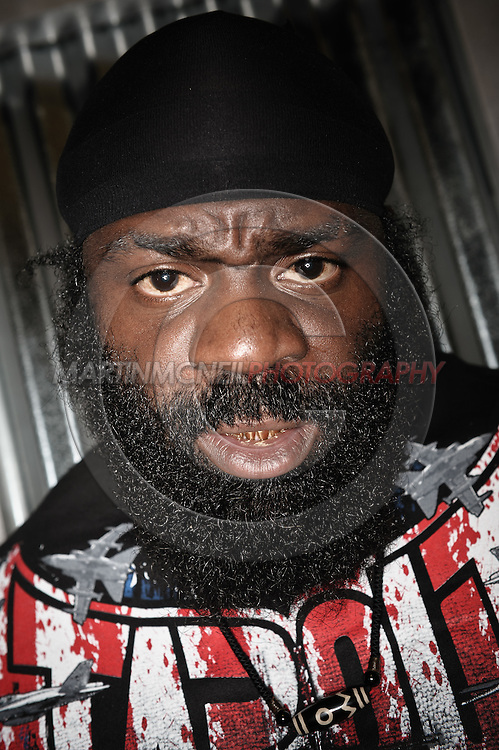 A portrait of mixed martial arts athlete Kevin Ferguson aka Kimbo Slice