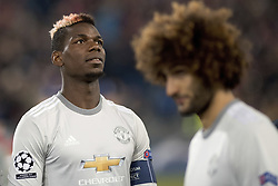 November 22, 2017 - Basel, BS, Schweiz - Basel, Fussball UEFA Champions League, FC Basel - Manchester United. 22.11. 2017. Manchesters Paul Pogba. (Credit Image: © Daniel Teuscher/EQ Images via ZUMA Press)