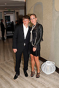Andrey Arshavin; Yulia Arshavin, The Tomodachi ( Friends) Charity Dinner hosted by Chef Nobu Matsuhisa in aid of the Unicef  Japanese Tsunami Appeal. Nobu Berkeley St. London. 5 May 2011. <br /> <br />  , -DO NOT ARCHIVE-© Copyright Photograph by Dafydd Jones. 248 Clapham Rd. London SW9 0PZ. Tel 0207 820 0771. www.dafjones.com.