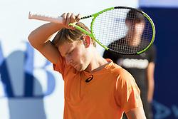 July 26, 2017 - Gstaad, Schweiz - 26.07.2016, Gstaad, Tennis, Swiss Open Gstaad 2017, David Goffin (BEL) (Credit Image: © Pascal Muller/EQ Images via ZUMA Press)
