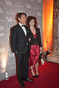 MICHAEL CHAPMAN; HELENA BONHAM-CARTER, Hollywood Costume gala dinner, V and A. London. 16 October 2012