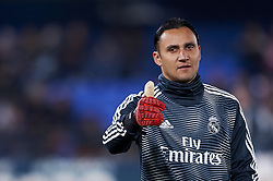January 3, 2019 - Villarreal, Castellon, Spain - Keylor Navas of Real Madrid during the warm-up before the week 17 of La Liga match between Villarreal CF and Real Madrid at Ceramica Stadium in Villarreal, Spain on January 3 2019. (Credit Image: © Jose Breton/NurPhoto via ZUMA Press)