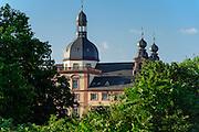 Schloss und Jesuitenkirche, Mannheim, Baden-Württemberg, Deutschland | palace and Jesuit church, Mannheim, Baden-Wurttemberg, Germany