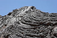 Lava flows at Valley of Fires State Park, New Mexico.