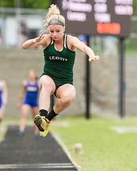Maine State Track & Field Meet, Class B: girls long jump, Leavitt