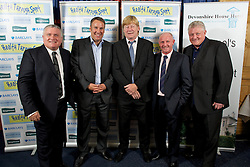 LIVERPOOL, ENGLAND - Friday, May 20, 2011: Ronnie Goodlass, Paul Merson, xxxx, xxxx and Sean Styles at the Health Through Sport charity dinner at the Devonshire House. (Photo by David Rawcliffe/Propaganda)