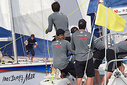 Korea Match Cup 2010. World Match Racing Tour. Gyeonggi, Korea. 10th June 2010. Photo: Ian Roman/Subzero Images.