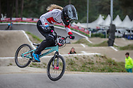 #155 (MECHIELSEN Drew) CAN at Round 6 of the 2018 UCI BMX Superscross World Cup in Zolder, Belgium
