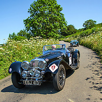 Car 34 Stephen Owens Collette Owens Jaguar SS100