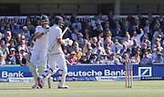 England Wicketkeeper Jos Buttler consoles England Joe Root after losing his wicket for 98 during the first day of the Investec 1st Test  match between England and New Zealand at Lord's Cricket Ground, St John's Wood, United Kingdom on 21 May 2015. Photo by Ellie  Hoad.
