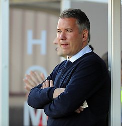 Peterborough United Manager, Darren Ferguson - photo mandatory by-line David Purday JMP- Tel: Mobile 07966 386802 - 11/10/14 - Crawley Town v Peterbourgh United - SPORT - FOOTBALL - Sky Bet Leauge 1  - London - Checkatrade.com Stadium
