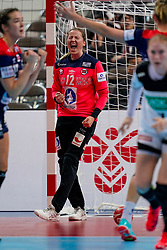 11-12-2019 JAP: Norway - Germany, Kumamoto<br /> Last match Main Round Group1 at 24th IHF Women's Handball World Championship, Norway win the last match against Germany with 32 - 29. / Silje Margaretha Solberg #12 of Norway