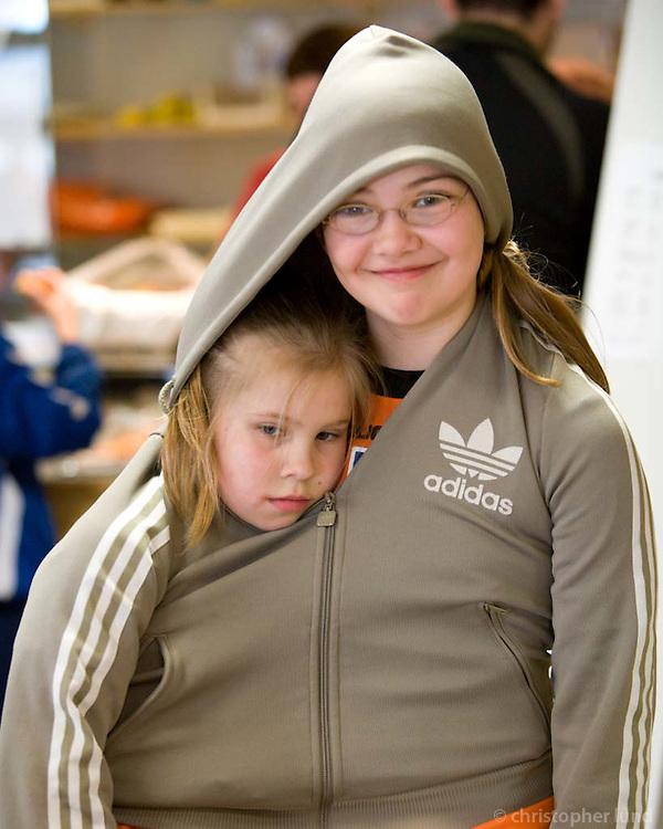 Frá Lýsismóti Gróttu sem haldið var helgina 5-6. maí 2007. Brugðið á leik á milli leikja.