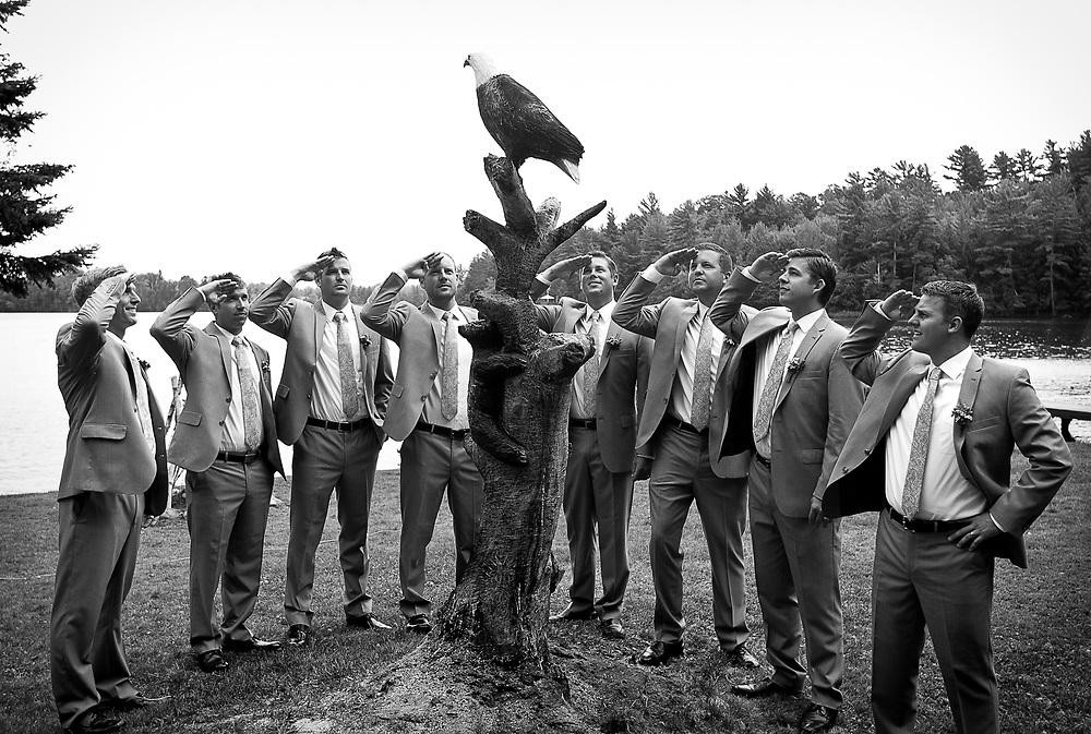 Van de Veld wedding in Eagle River, Wisconsin, Saturday, August 16, 2014