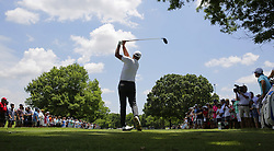 May 25, 2018 - Fort Worth, Texas, U.S. - STEVE STRICKER tees off on the 3rd hole during the second round of the 2018 Fort Worth Invitational PGA at Colonial Country Club in Fort Worth, Texas. (Credit Image: © Erich Schlegel via ZUMA Wire)