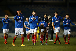 Portsmouth win 2-1 and advance into the next round against AFC Bournemouth - Mandatory byline: Jason Brown/JMP - 07966386802 - 19/01/2016 - FOOTBALL - Fratton Park - Portsmouth, England - Portsmouth v Ipswich Town - The Emirates FA Cup