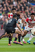 Twickenham, United Kingdom, Saturday, 17th  November 2018, RFU, Rugby, Stadium, England,  Joe COKANASIGA, running, wit the ball, during ,the Quilter Autumn International, England vs Japan, © Peter Spurrier