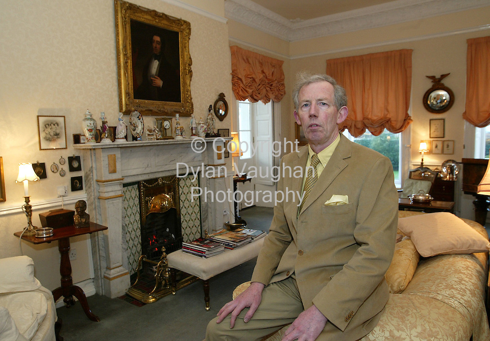 15/1/2004.Randal  Dempsey (owner) pictured at barrowville Town House in Carlow..Puicture Dylan Vaughan.