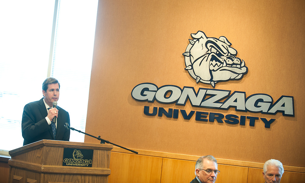 April 2012 Presidential Speaker Ingrid Betancourt. (Photo by Gonzaga University)