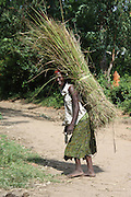 Africa, Ethiopia, Omo region, Ari Tribe woman
