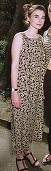 Debutante MISS HENRIETTA SALT at a fashion show in London on April 7th 1997.LXK 23 WOLO