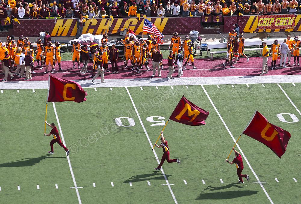 Syracuse vs. CMU football on Saturday September 13, 2014. Photo by Steve Jessmore/Central Michigan University