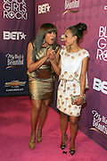 October 13, 2012- Bronx, NY: (L-R) Actresses Taraji P. Henson and Kerr Washington at the Black Girls Rock! Awards Red Carpet presented by BET Networks and sponsored by Chevy held at the Paradise Theater on October 13, 2012 in the Bronx, New York. BLACK GIRLS ROCK! Inc. is 501(c)3 non-profit youth empowerment and mentoring organization founded by DJ Beverly Bond, established to promote the arts for young women of color, as well as to encourage dialogue and analysis of the ways women of color are portrayed in the media. (Terrence Jennings)
