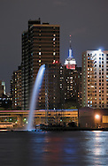Waterfall in Manhattan