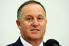 Wellington-Prime Minister John Key makes speech on National Security